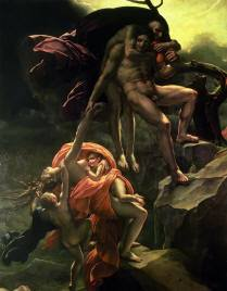 Deluge by Anne Louise Girodet Trioson 1806 Royalty Free Images