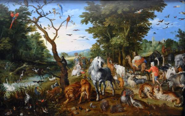 Entry of the Animals into Noah's Ark, Jan Brueghel