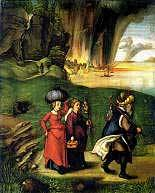 Lot and His Daughters Albrecht Durer 1510 Royalty Free Images