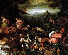 Noah After the Flood, Francesco Bassano 1576, Royalty Free Images
