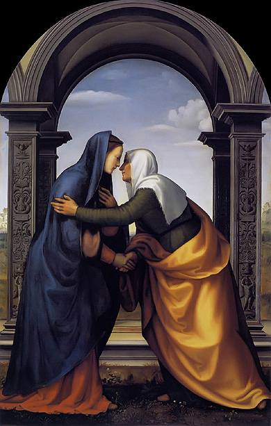Mariotto Albertinelli The Visitation 1503, Royalty Free Images Gallery