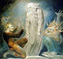 William Blake Ghost of Samuel Appears to Saul Royalty Free Images