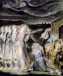William Blake The Wise and Foolish Virgins Royalty Free Images