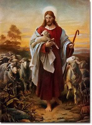 Royalty Free Images, The Good Shepherd Bernhard Plockhorst