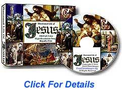 Life of Jesus, high resolution images, royalty free 500 picture CD