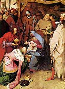 Adoration Of The Kings by Pieter Bruegel the Elder