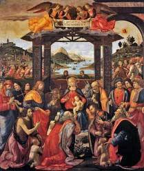 Adoration of the Magi, Domenico Ghirlandaio, Free Images, Three Kings, Wise Men