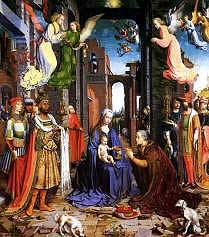 Adoration of the Magi, Jan Gossaert, Free Images, Three Kings, Wise Men
