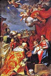 Adoration of the Magi by Abraham Bloemaert 1623 Free Christian Art