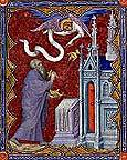 Royalty Free Images, The Annunciation to Zacharias, John of Berry's Petites Heures