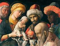 Adoration of the Magi, Andrea Mantegna, c. 1500