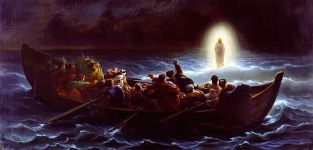Christ Walking on the Water, Amedee Varin