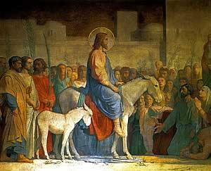 Christ's Entry into Jerusalem by Hippolyte c. 1842