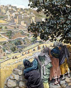 The Disciples Eat Wheat on the Sabbath by James Tissot