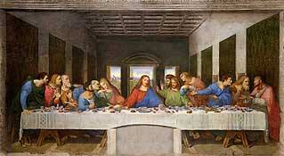 The Last Supper by Leonardo Da Vinci 1495 Royalty Free Images