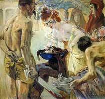 Salome, Lovis Corinth, 1899, royalty free images