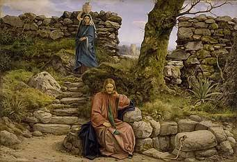 The Woman of Samaria by William Dyce, 1860