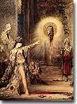 The Apparition by Gustave Moreau, 1874, royalty free images of the death of John the Baptist