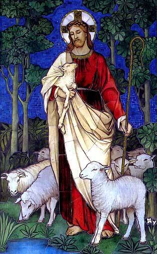The Good Shepherd James Powell 1888 Royalty Free Images