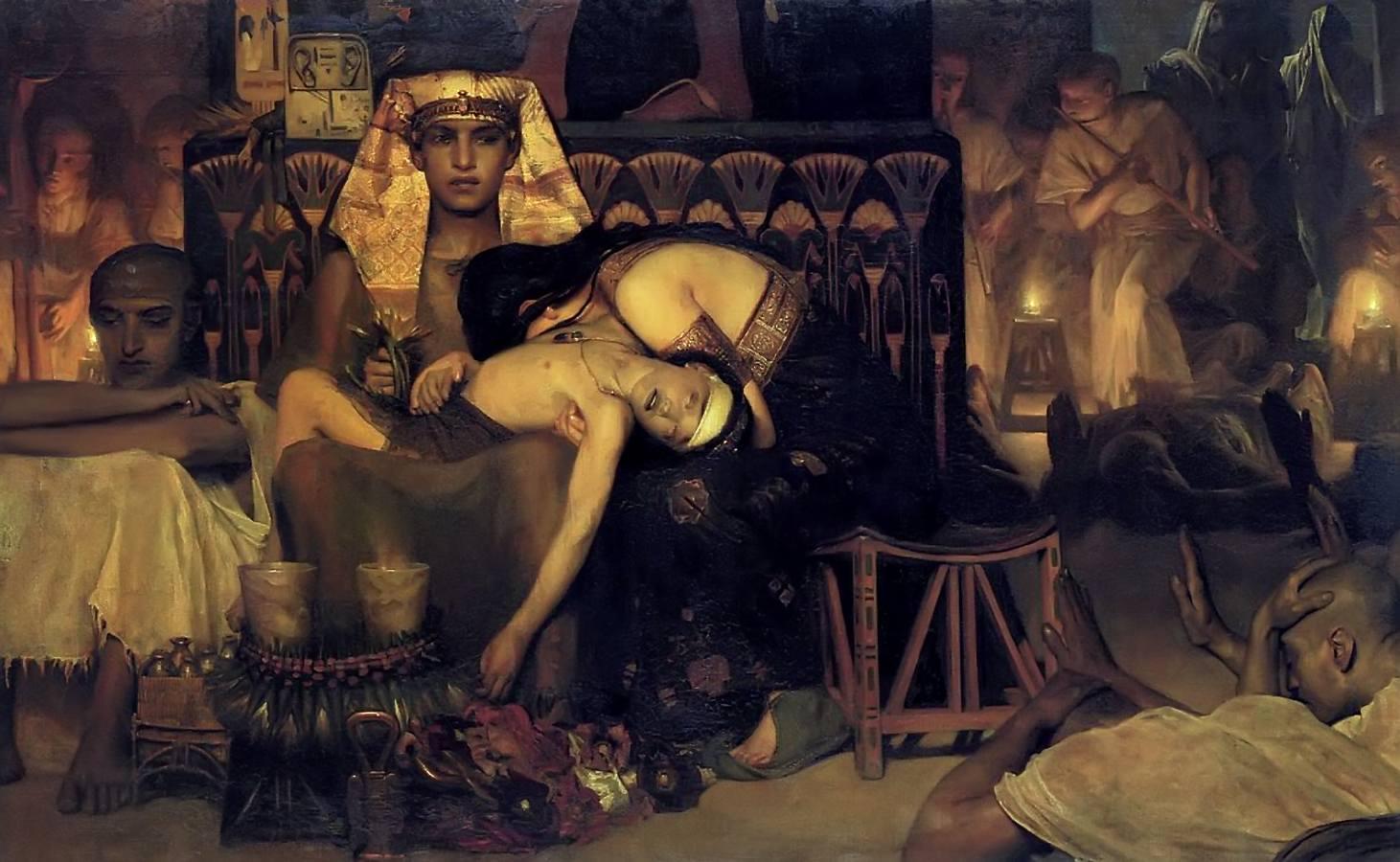 Mojżesz Walter Benjamin Plagi Egiptu