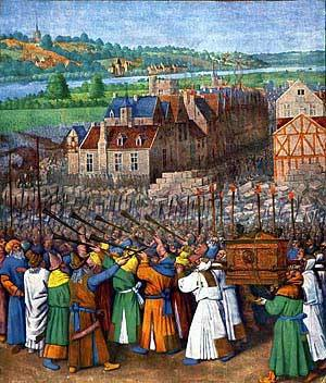 The Battle of Jericho by Jean Fouquet 1452