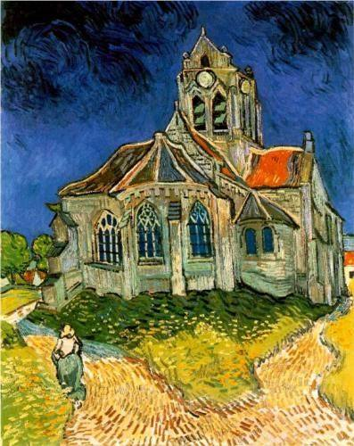 Rev 2, The Church at Auvers by Vincent van Gogh