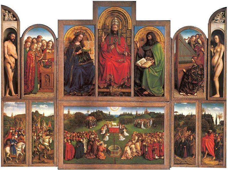 Ghent Altarpiece, Eyck high resolution