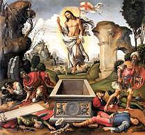 Resurrection by Raffaelino del Garbo 1510 Royalty Free Images