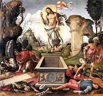 Resurrection by Raffaelino del Garbo 1510 Royalty Free Images