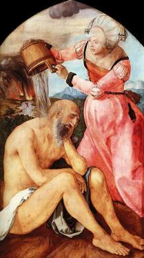 Job and His Wife by Albrecht Durer 1504 Free Images