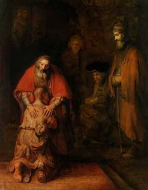 The Return of the Prodigal Son, Rembrandt van Rijn